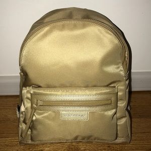 Longchamp Le Pliage Neo Small Gold Backpack